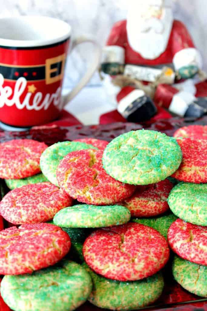 Santa's Favorite Sugar Cookies Recipe | Kudos Kitchen by Renee