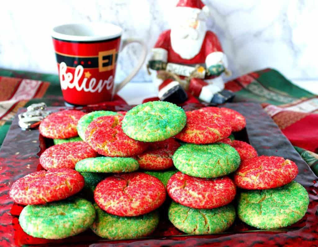 Santa's Favorite Sugar Cookie Recipe | Kudos Kitchen by Renee