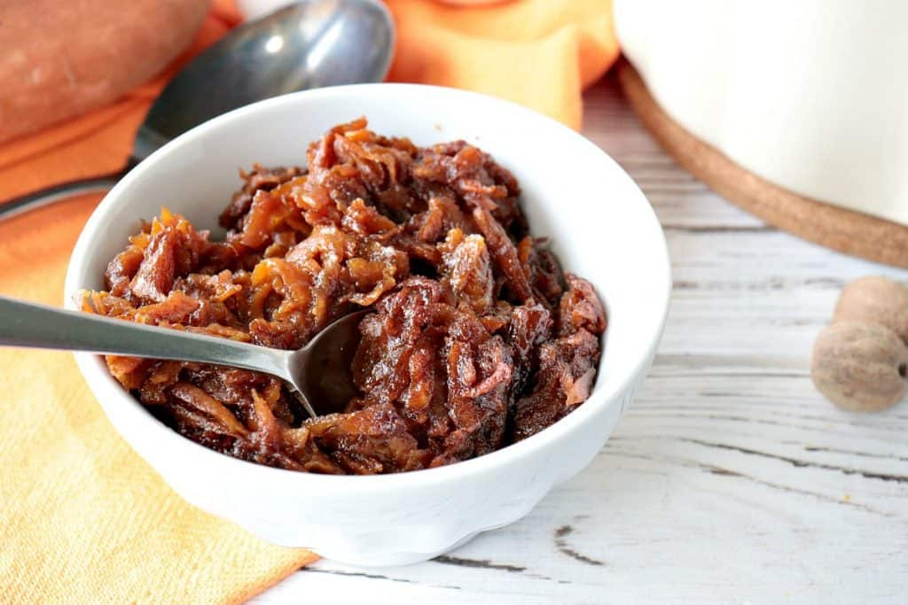 Old-Fashioned Grated Sweet Potato Pudding Recipe - kudoskitchenbyrenee.com