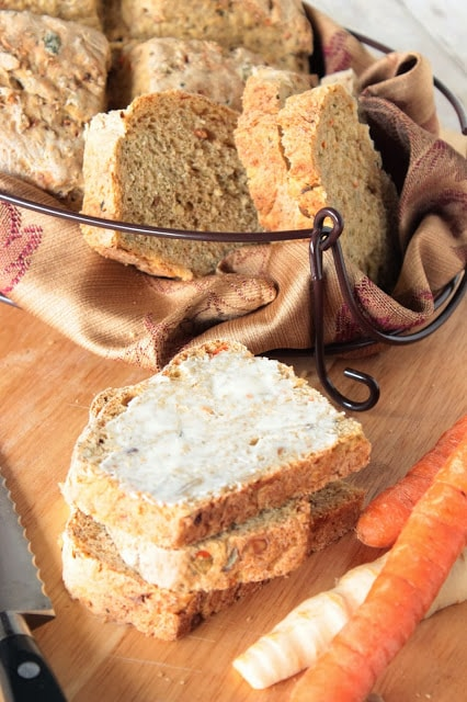 Carrot And Parsnip Bread Recipe