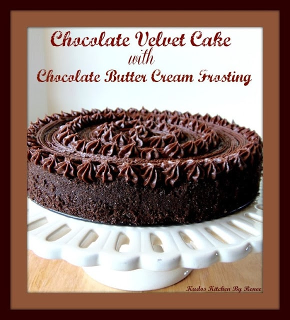 Chocolate Velvet Cake Recipe