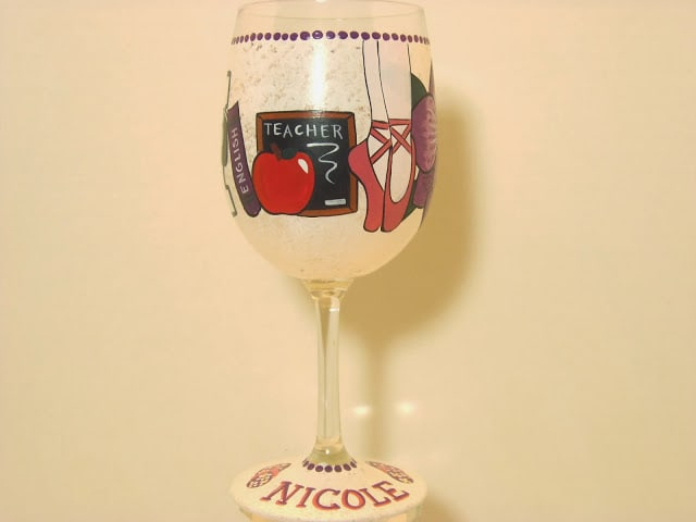 this is your life wine glass