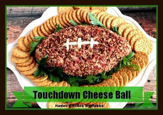 Football Cheese Ball Recipe
