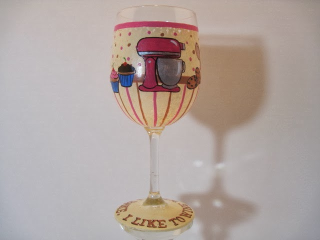 baking wine glass