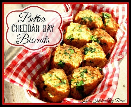 Better Cheddar Bay Biscuit Recipe