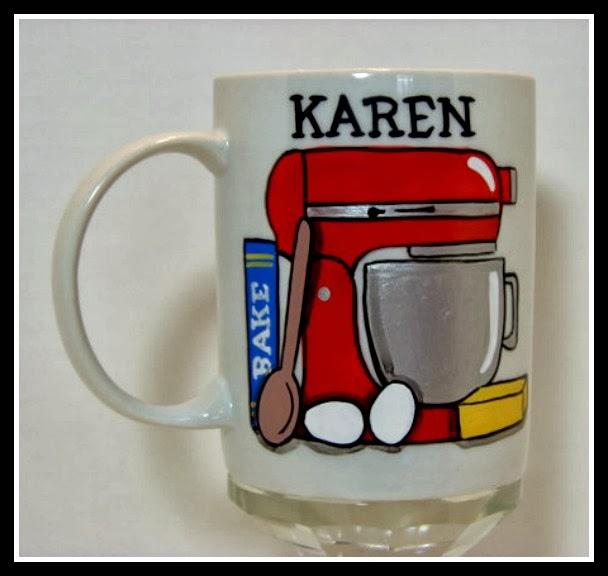 Stand Mixer Personalized Coffee Mug