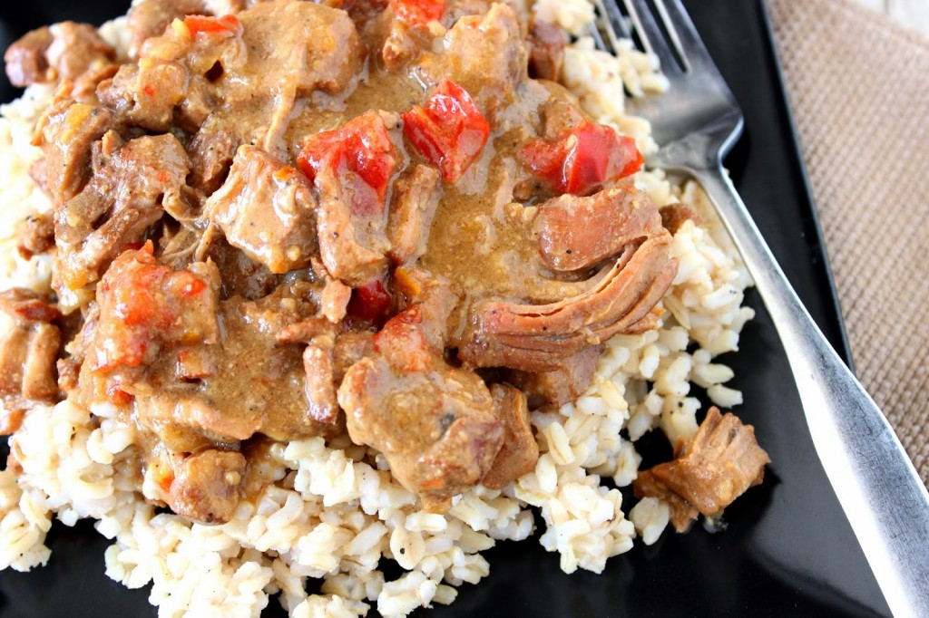 Slow Cooker Gingered Pork with Orange Sauce Recipe