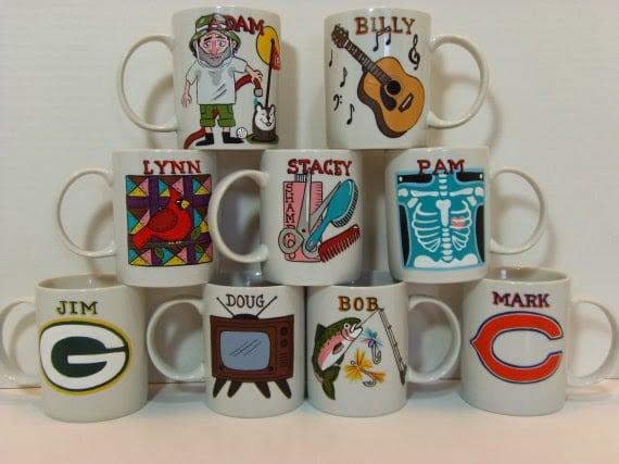 Kudos Kitchen By Renee - Personalized Coffee Mugs
