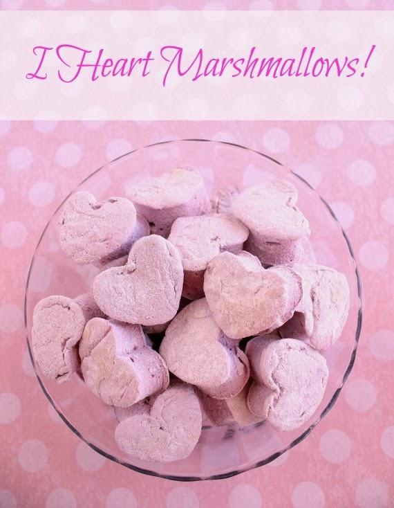 Kudos Kitchen By Renee - Homemade Heart Marshmallow Recipe
