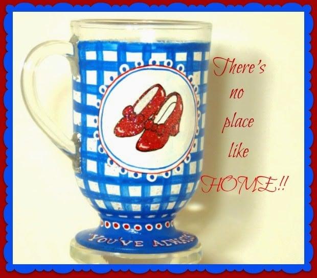Dorothy's Ruby Red Slippers mug