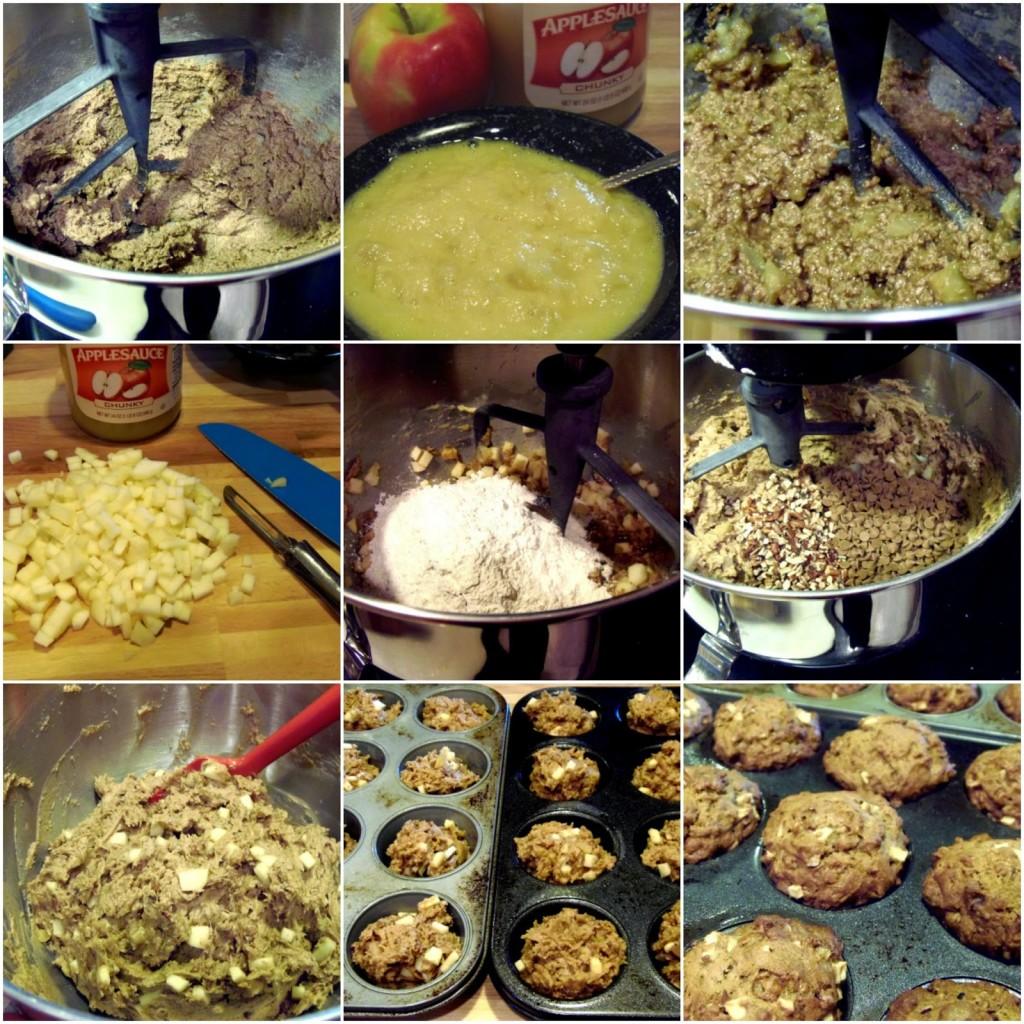 Applesauce Cinnamon Chip Muffin Recipe