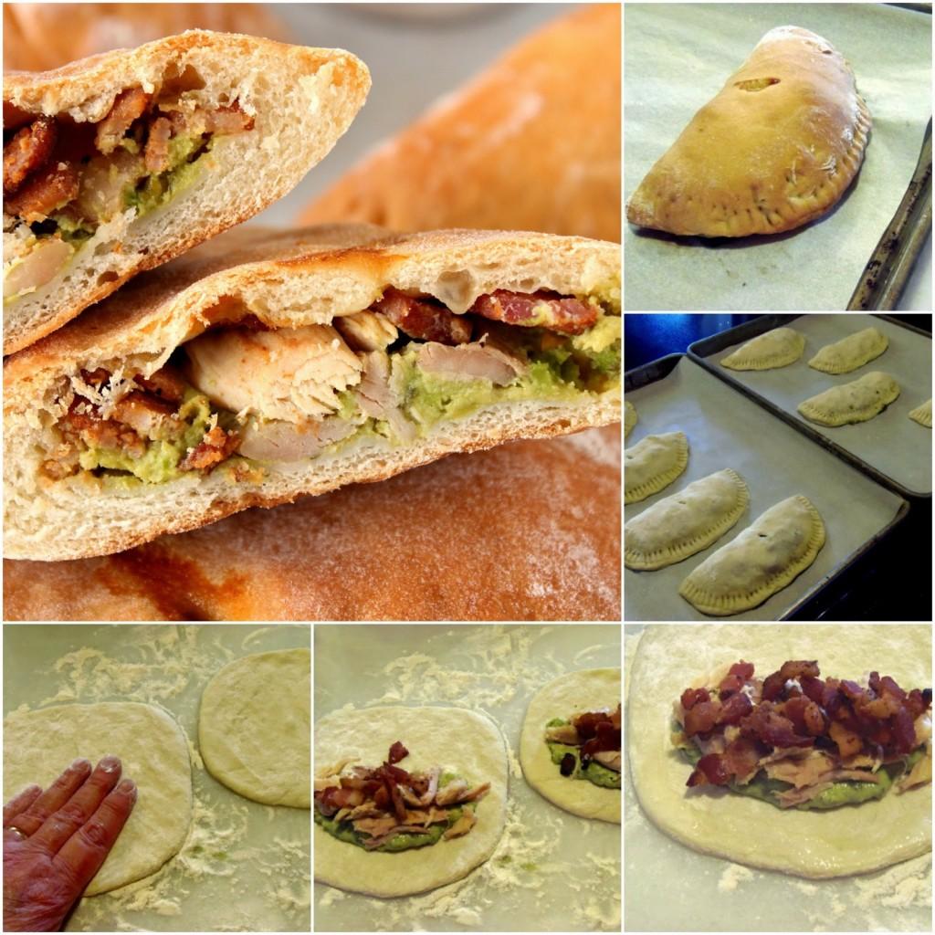 Chicken, Bacon & Avocado Calzones Recipe - kudoskitchenbyrenee.com