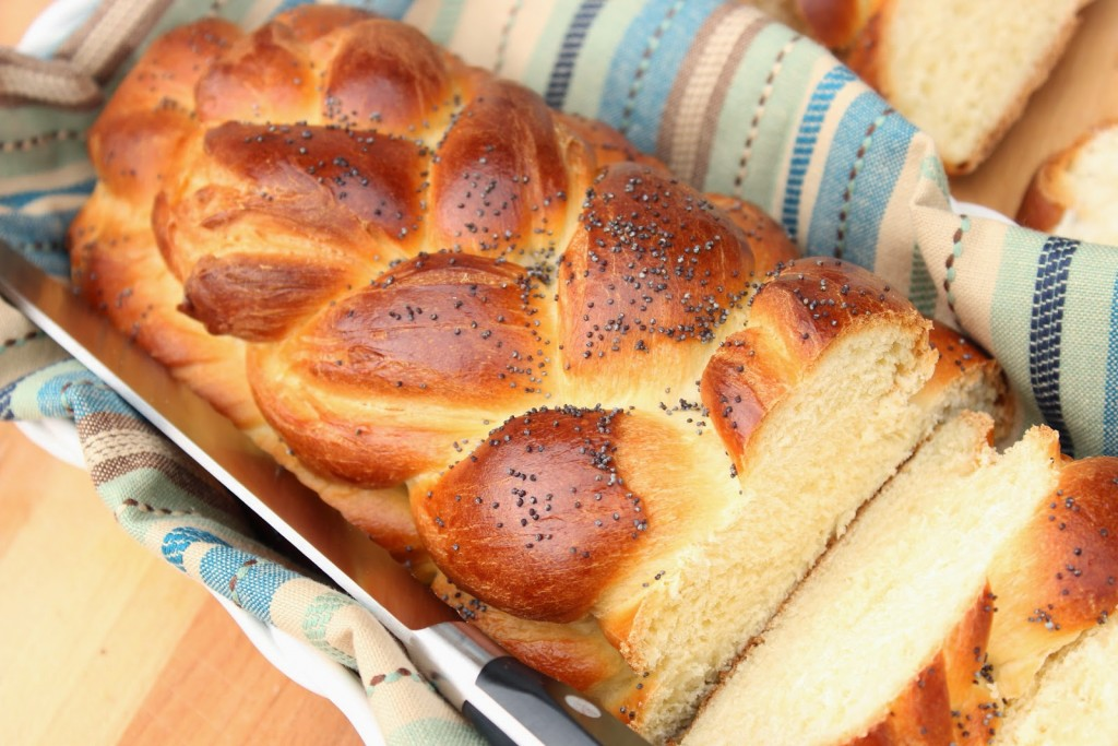 Braided Challah Bread Recipe via Kudos Kitchen By Renee