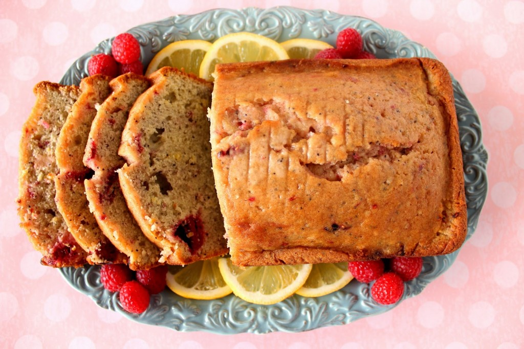 Lemon Raspberry Quick Bread Recipe - kudoskitchenbyrenee.com