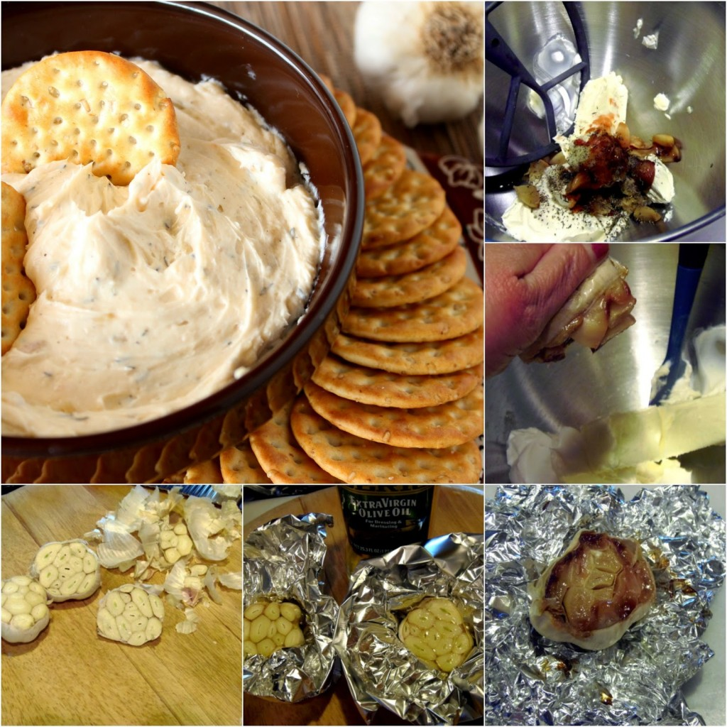 Vampire Garlic Dip Recipe via Kudos Kitchen By Renee