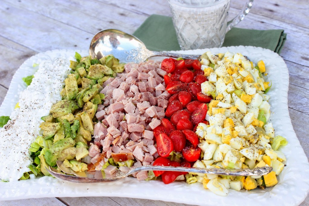 Kudos Cobb Salad Recipe via Kudos Kitchen by Renee