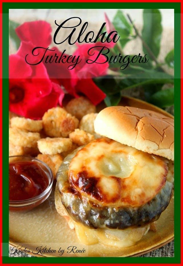 Aloha Turkey Burgers via kudoskitchenbyrenee.com