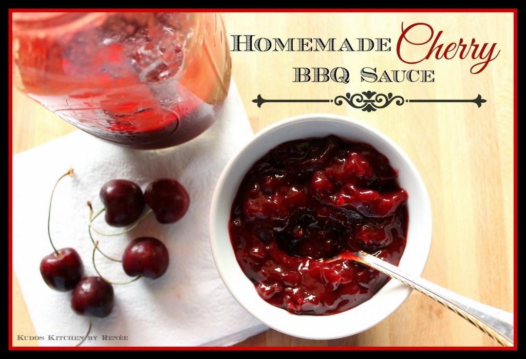 Homemade Cherry BBQ Sauce Recipe