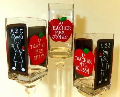 Teacher pencil jars