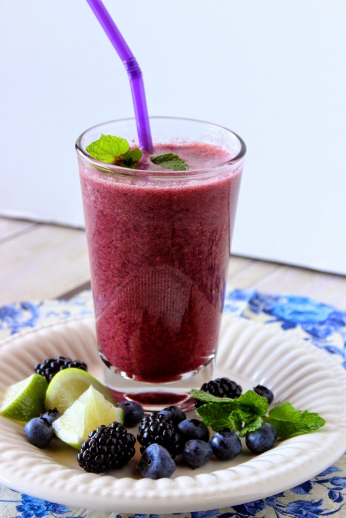 Blackberry, Blueberry and Mint Beauty Water
