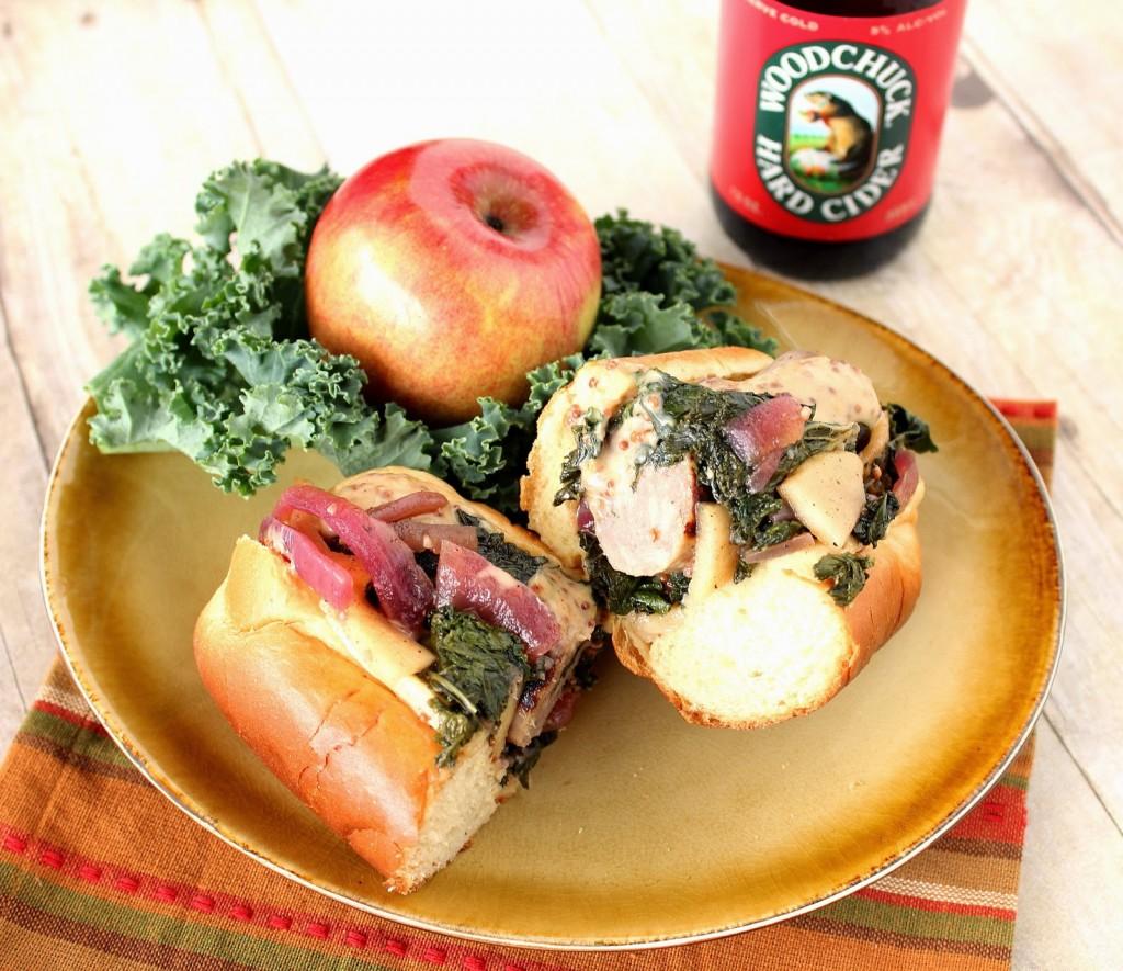 How to make Bratwurst and Apple Kale Kraut