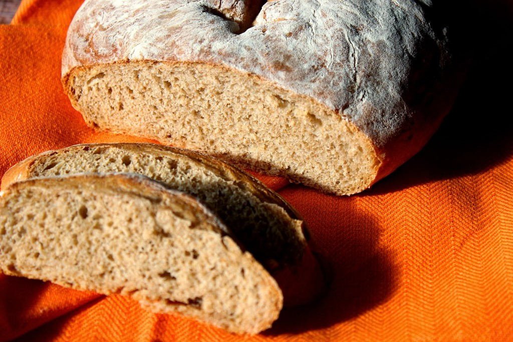 Football French Bread has the perfect crumb and crust for sandwiches and soups.
