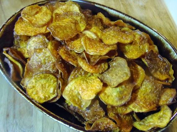 Smoky Sweet Potato Chips Recipe