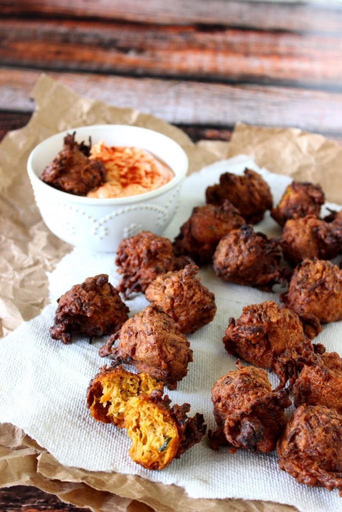 Zucchini and Sweet Potato Fritters Recipe