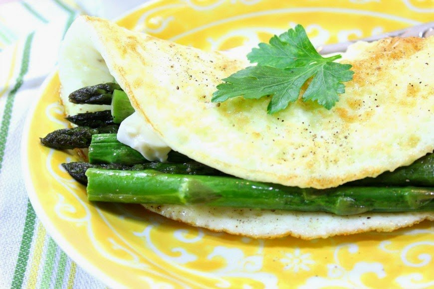 Low Calorie Egg White Omelet