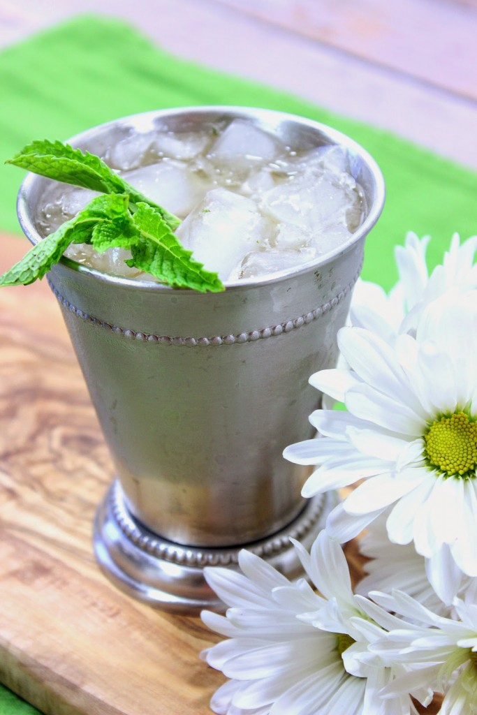 Non-Traditional Coconut Palm Sugar Mint Julep - www.kudoskitchenbyrenee.com