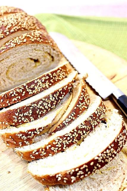 Whole Wheat Dijon Pretzel Bread - kudoskitchenbyrenee.com