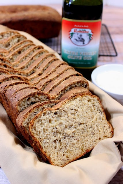 Whole Wheat Cheese Caraway Batter Bread