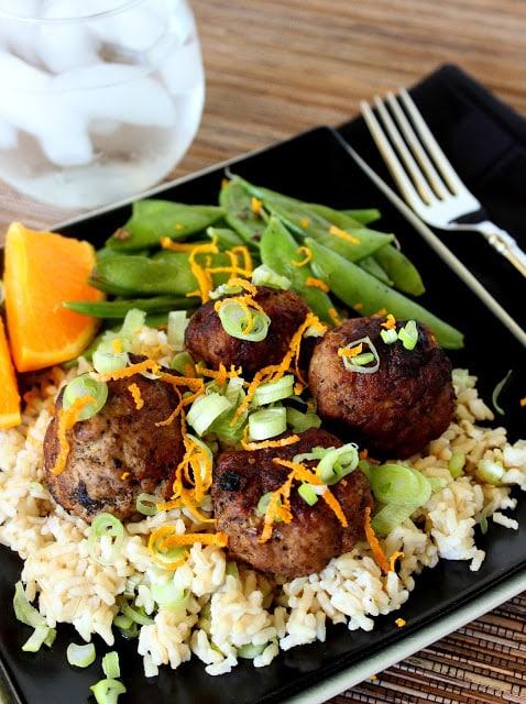 Asian Inspired Pork Meatballs