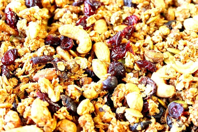 Healthy Coconut Oil Granola