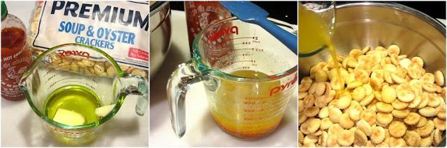How to make Sriracha Firecracker Cracker Snackers photo tutorial. - kudoskitchenbyrenee.com