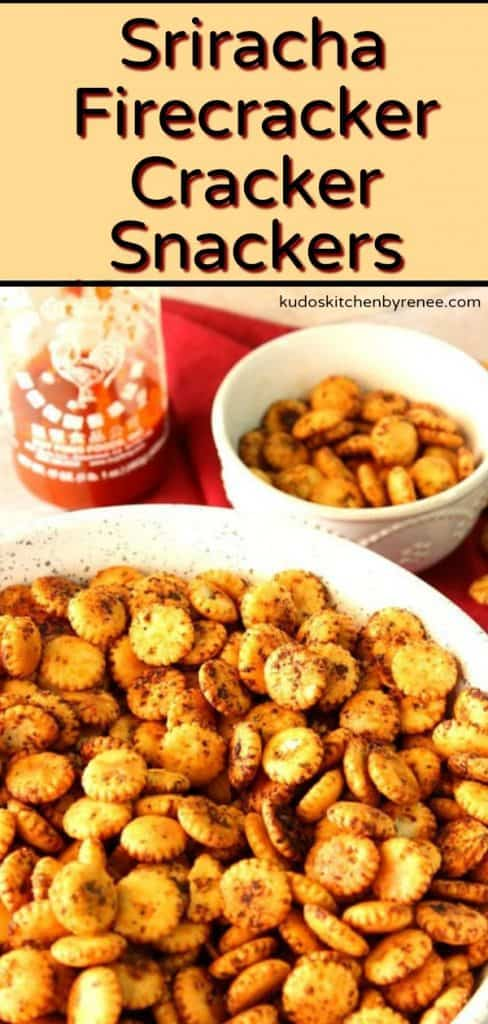 These hot and sweet Sriracha firecrackersnackers will be a hit at your next tailgating event or your next party. They're incredibly easy to make and take only a handful of ingredients that you probably already have in your pantry. - kudoskitchenbyrenee.com
