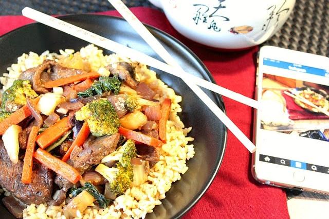 Beef, Broccoli and Bok Choy Stir Fry