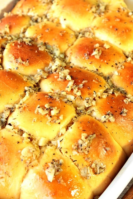 Sweet Garlic Rolls