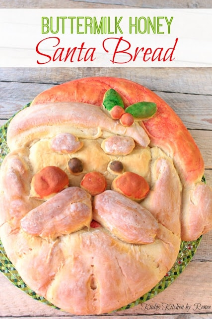 Buttermilk Honey Santa Bread