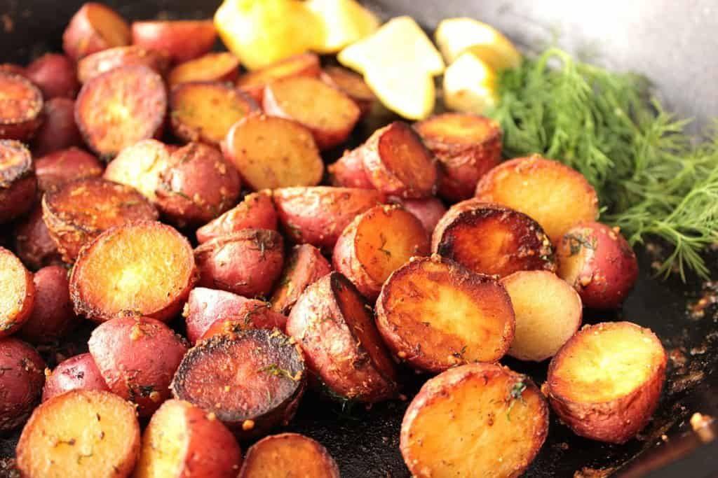 Easy Crispy Red Potatos
