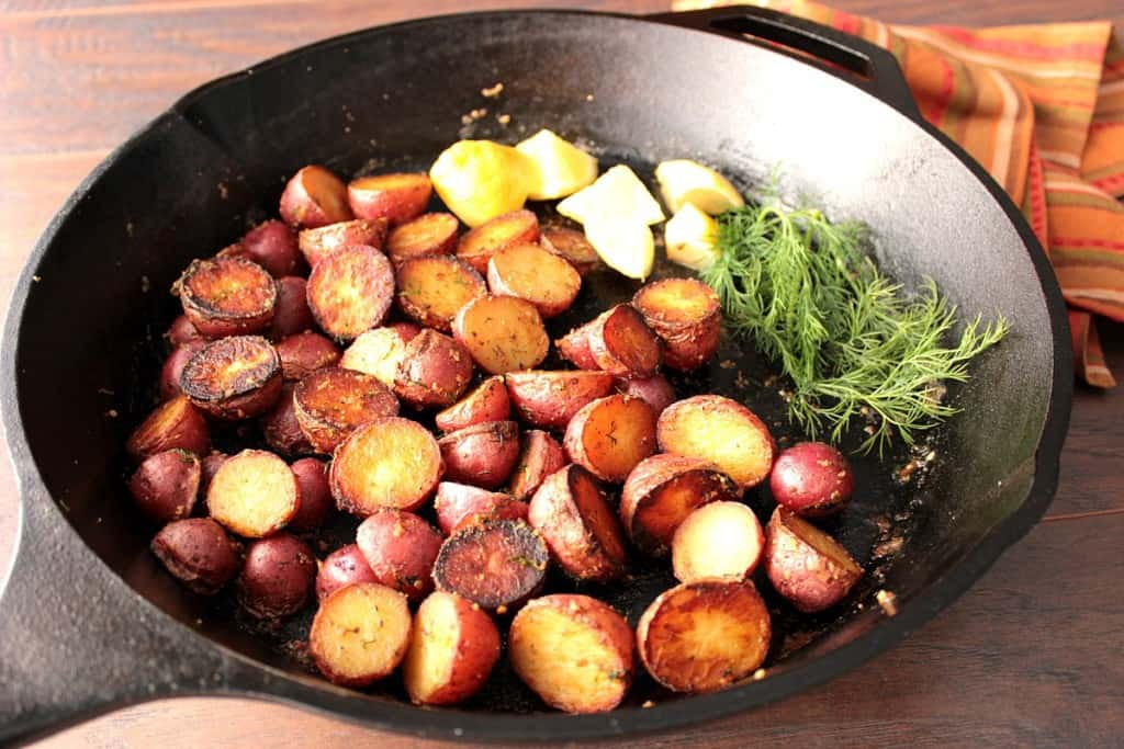 Red Potatoes with Lemon and Dill