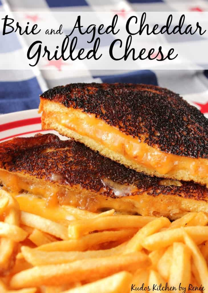 Grown up grilled cheese sandwiches