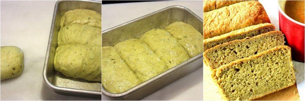 Homemade Avocado Yeast Bread Recipe