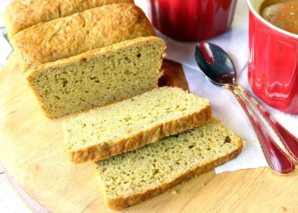 Recipe for Avocado Yeast Bread with Cilantro
