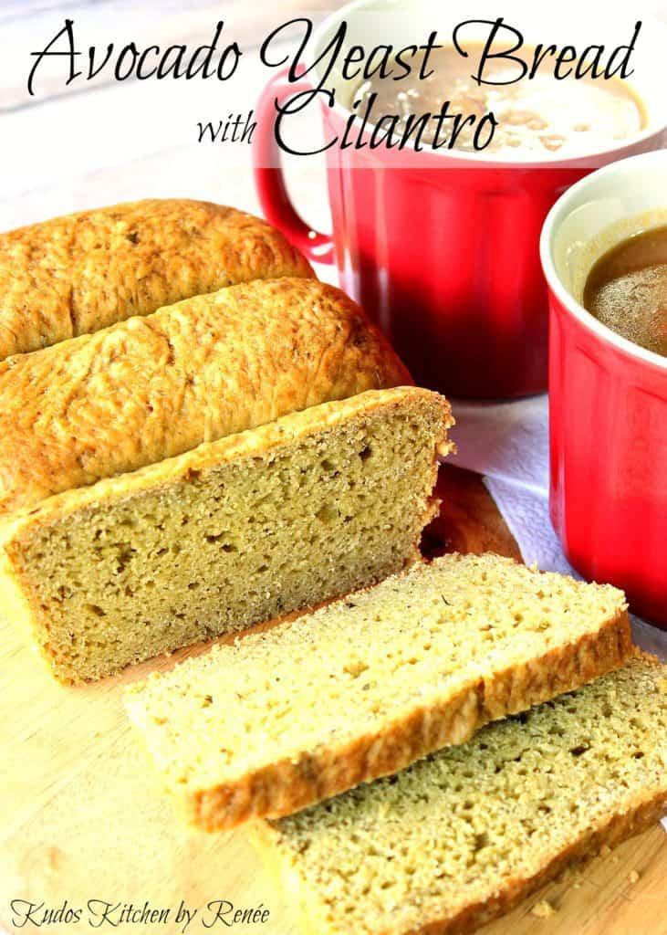 Homemade Avocado Bread Yeast Bread