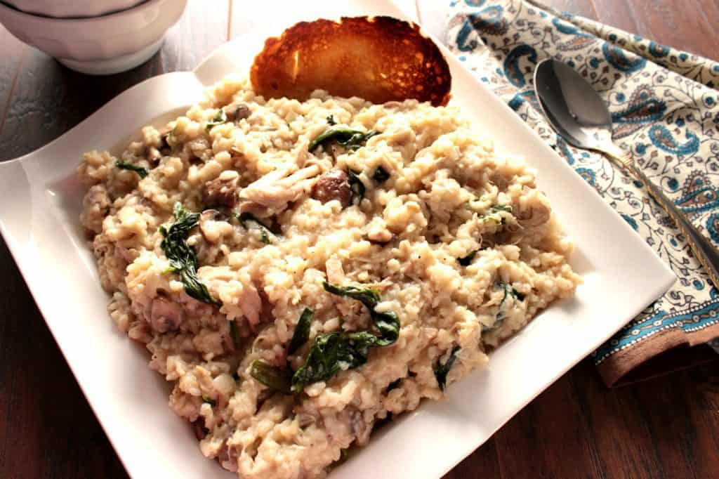 Chicken Risotto with Mascarpone