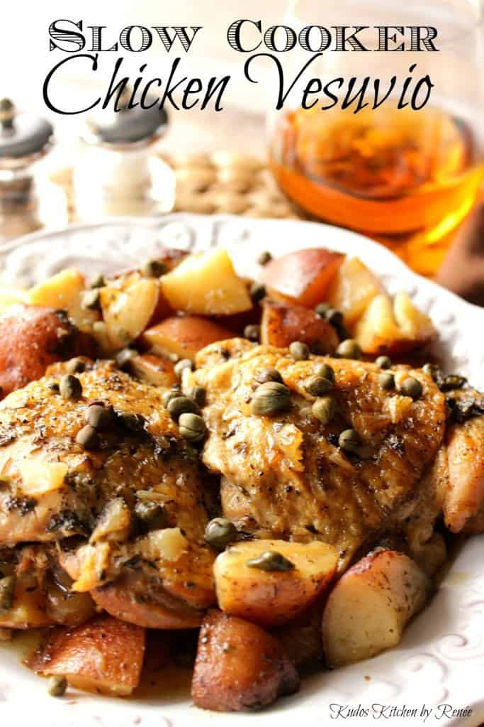 Slow Cooker Chicken Vesuvio