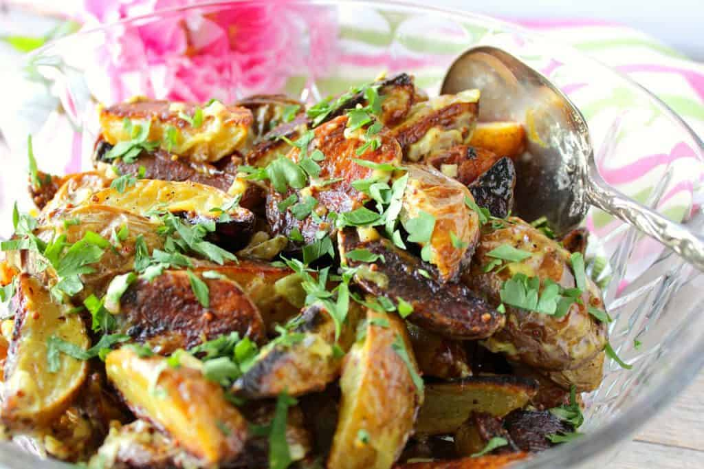 Easy Roasted Potato Salad with Parsley