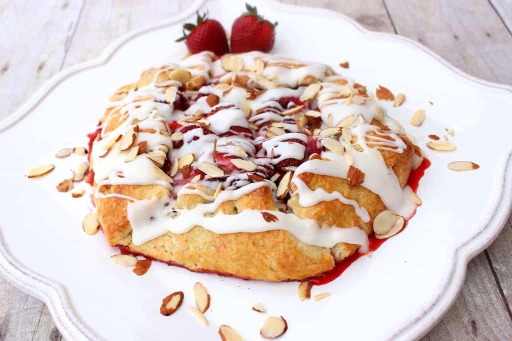 Rustic Strawberry Crostata