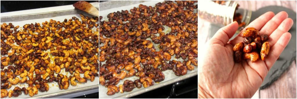 How to make roasted nuts.